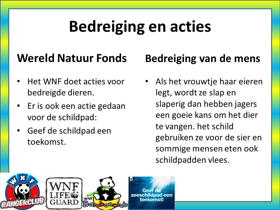 Bedreiging en acties Wereld Natuur Fonds Bedreiging van de mens