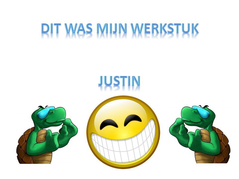 dit was mijn werkstuk Justin
