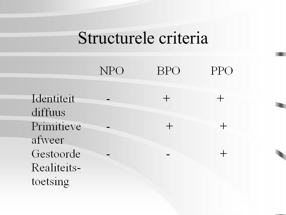 Structurele criteria
