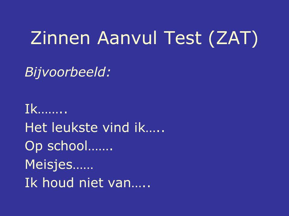 Zinnen Aanvul Test (ZAT)