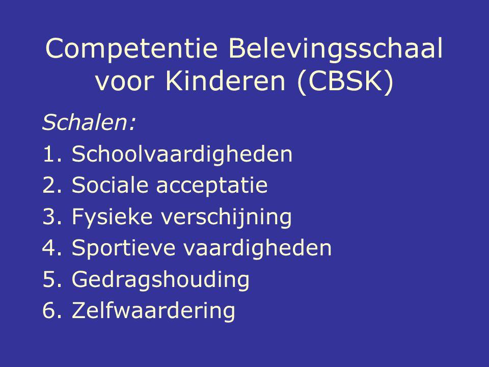 Competentie Belevingsschaal voor Kinderen (CBSK)