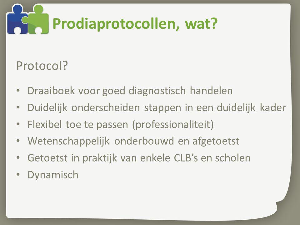 Prodiaprotocollen, wat