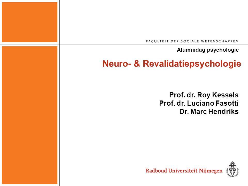 Neuro- & Revalidatiepsychologie