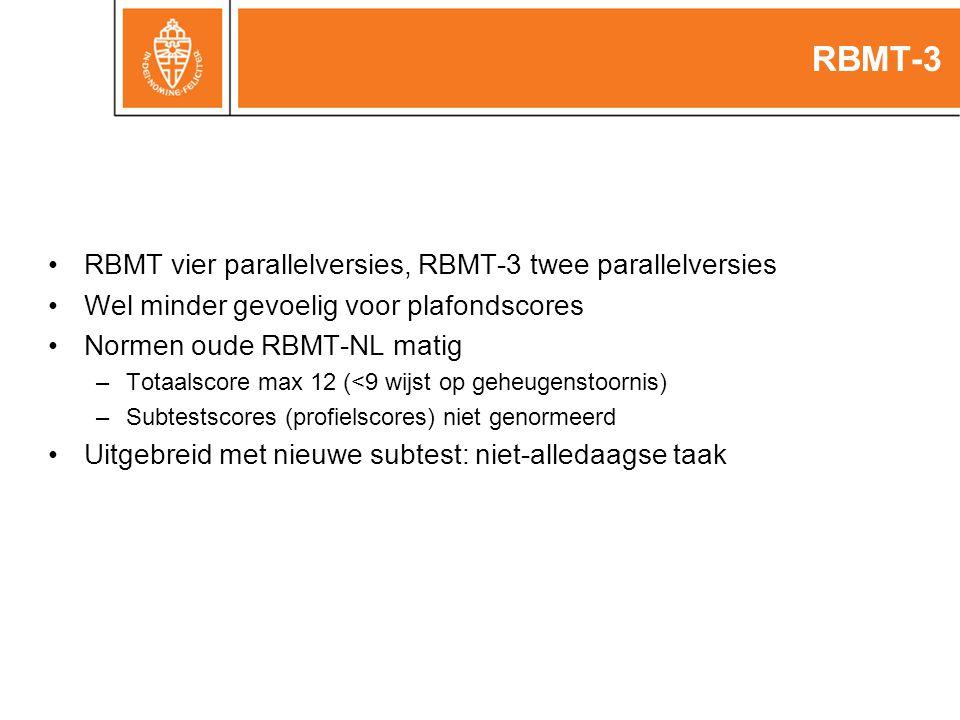 RBMT-3 RBMT vier parallelversies, RBMT-3 twee parallelversies