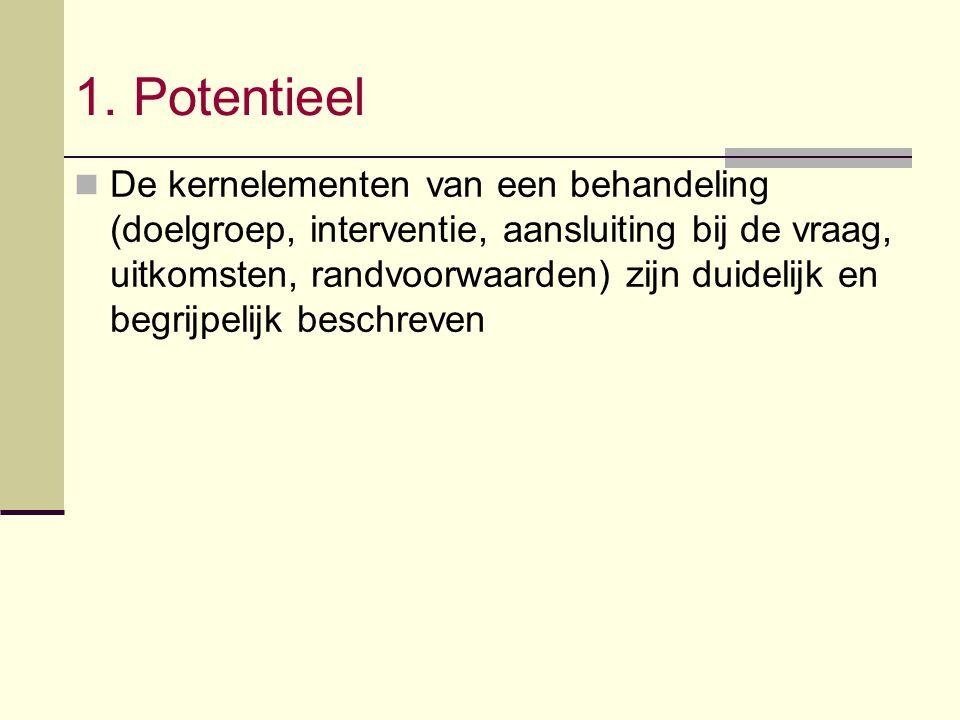 1. Potentieel