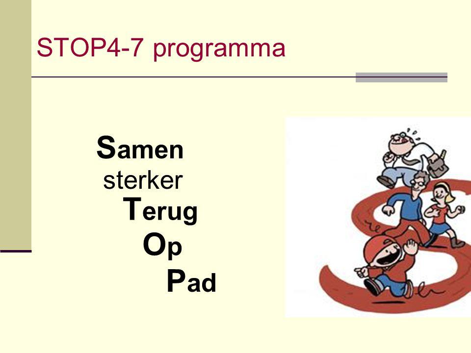 STOP4-7 programma Samen sterker Terug Op Pad
