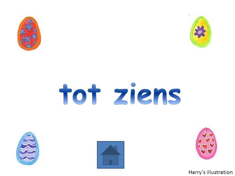 tot ziens Harry's illustration