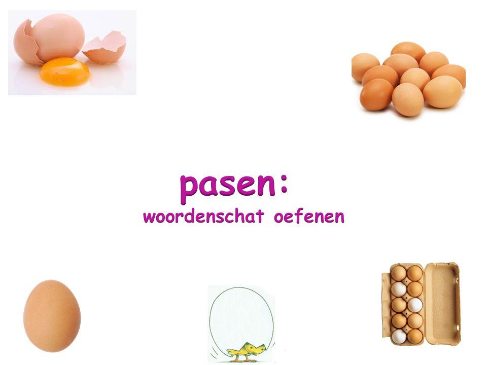 pasen: woordenschat oefenen