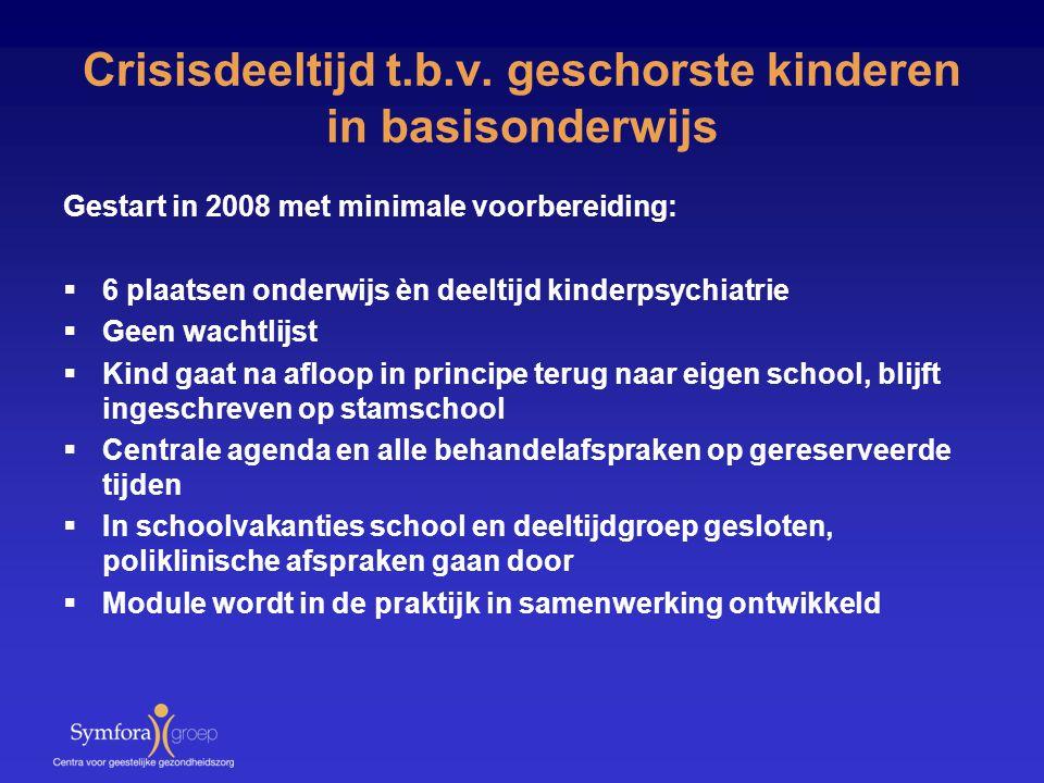Crisisdeeltijd t.b.v. geschorste kinderen in basisonderwijs
