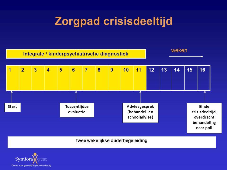 Zorgpad crisisdeeltijd