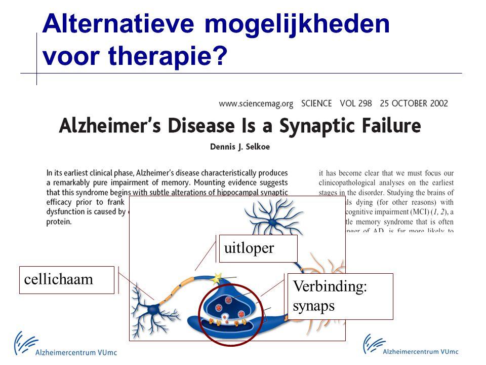Alternatieve mogelijkheden voor therapie