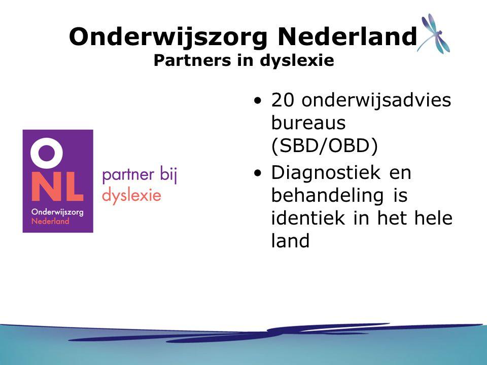 Onderwijszorg Nederland Partners in dyslexie