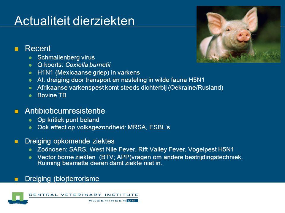 Actualiteit dierziekten