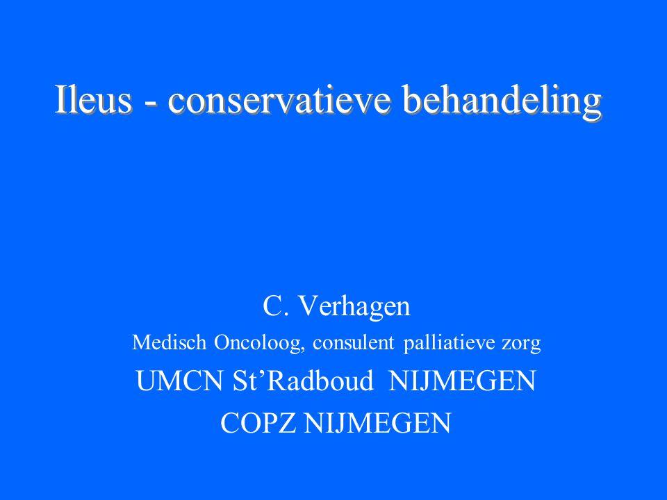 Ileus - conservatieve behandeling