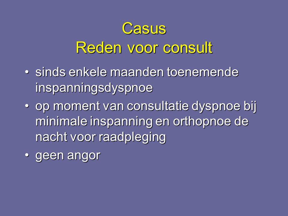 Casus Reden voor consult