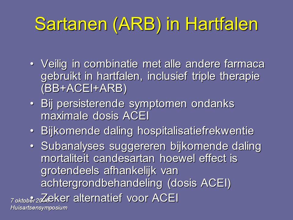Sartanen (ARB) in Hartfalen