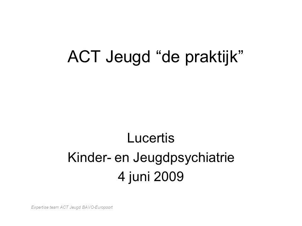 ACT Jeugd de praktijk