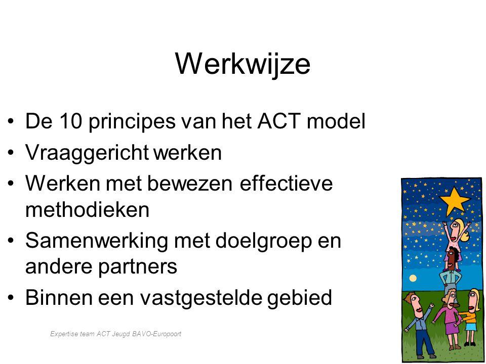 Expertise team ACT Jeugd BAVO-Europoort