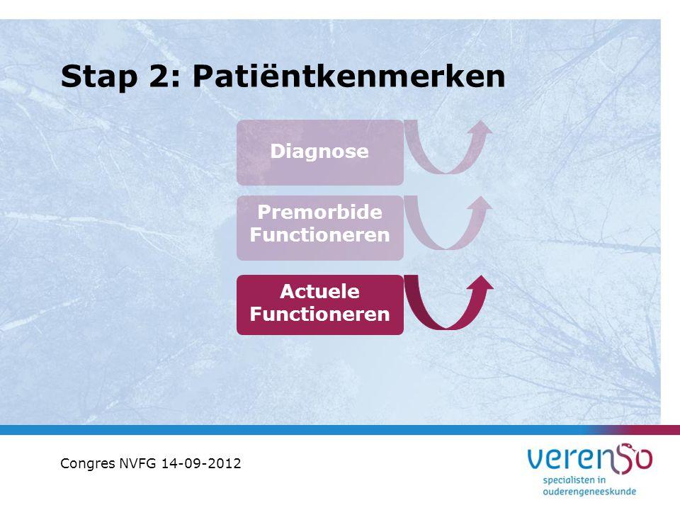 Stap 2: Patiëntkenmerken