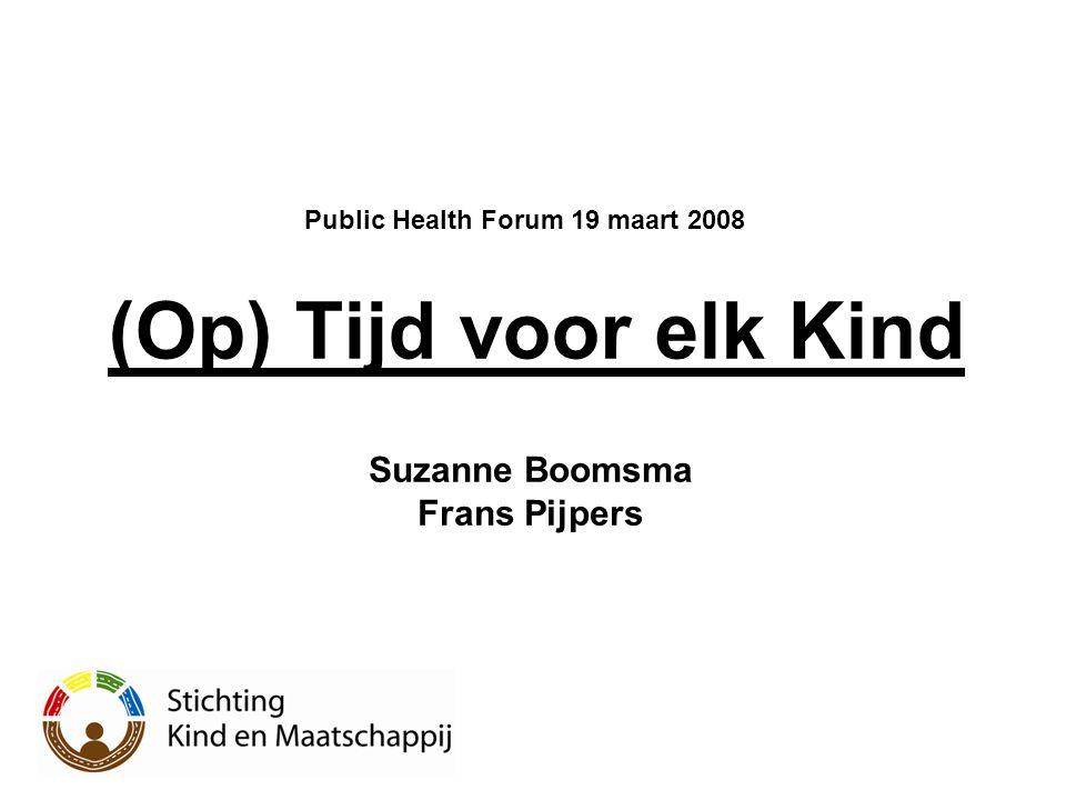 Public Health Forum 19 maart 2008