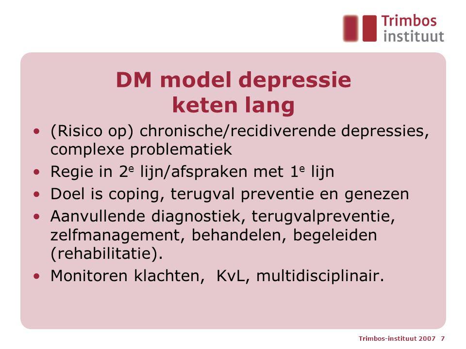 DM model depressie keten lang