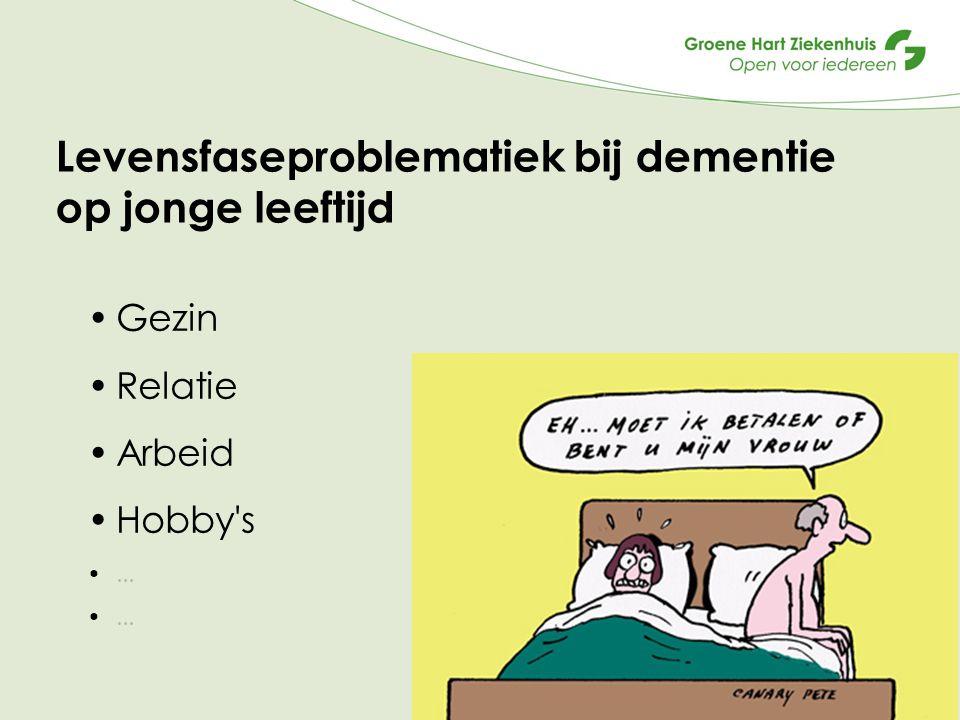 Levensfaseproblematiek bij dementie op jonge leeftijd