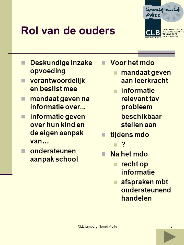 CLB Limburg-Noord Adite