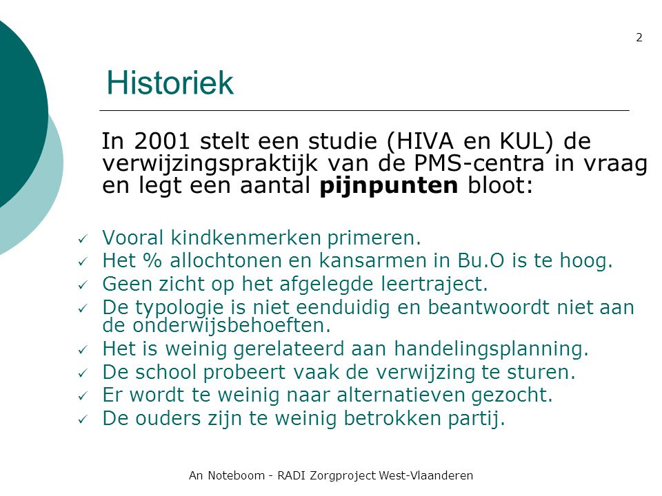 An Noteboom - RADI Zorgproject West-Vlaanderen