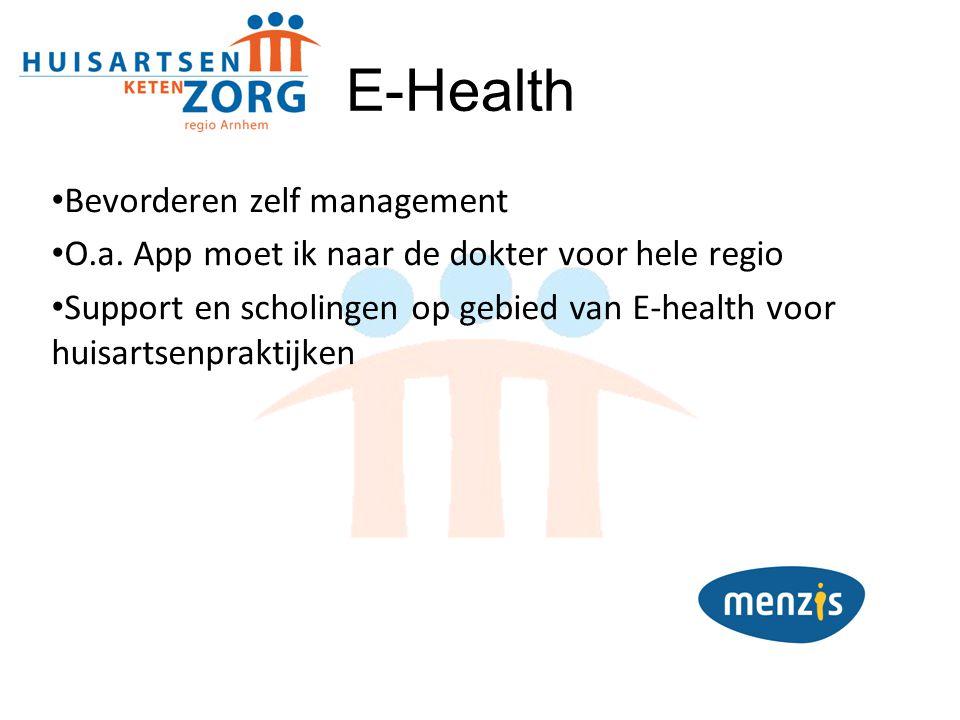 E-Health Bevorderen zelf management