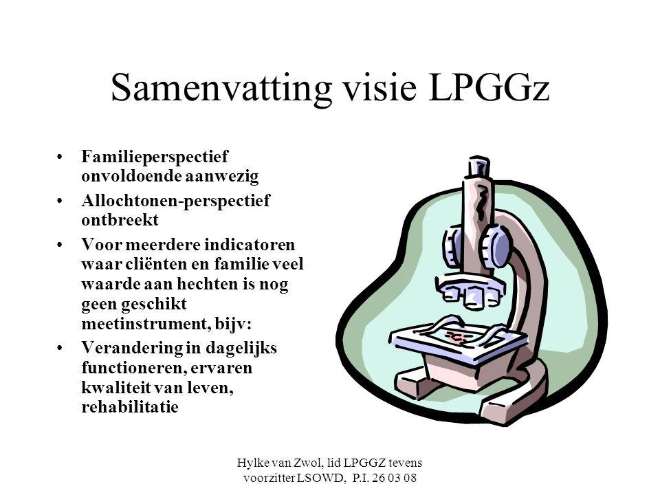 Samenvatting visie LPGGz