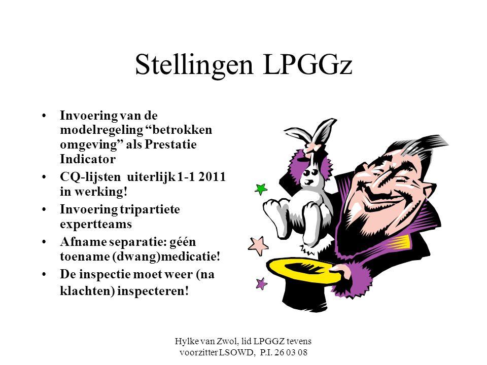 Hylke van Zwol, lid LPGGZ tevens voorzitter LSOWD, P.I. 26 03 08
