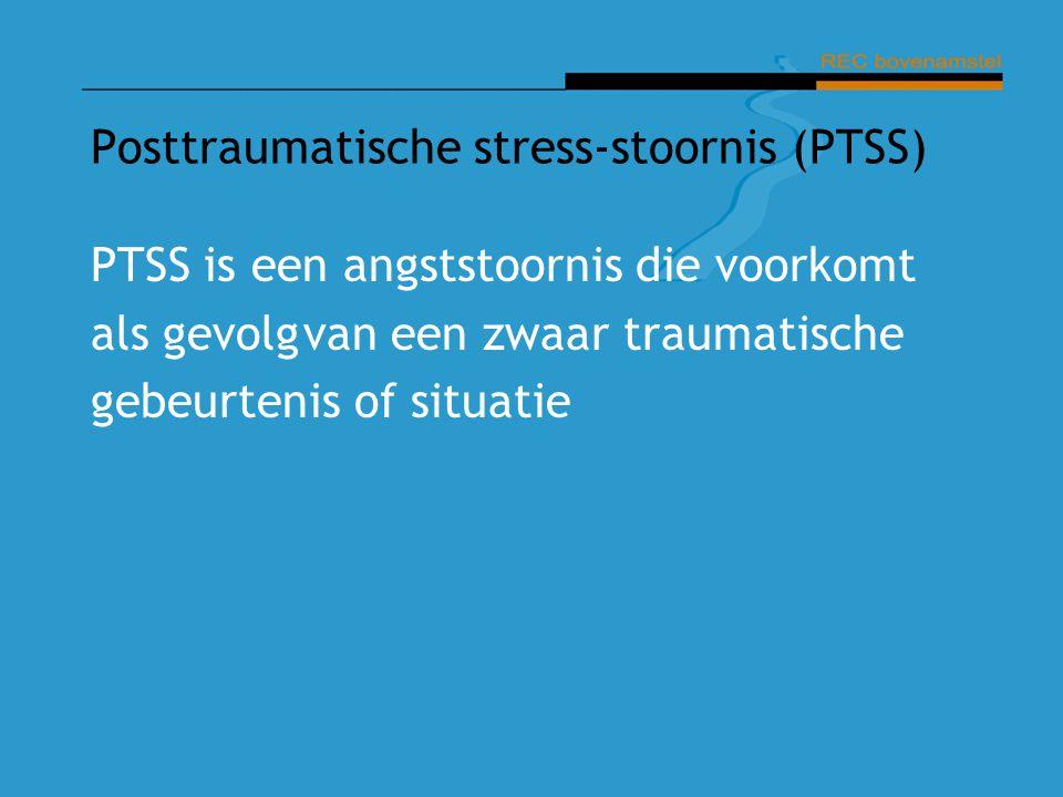 Posttraumatische stress-stoornis (PTSS)