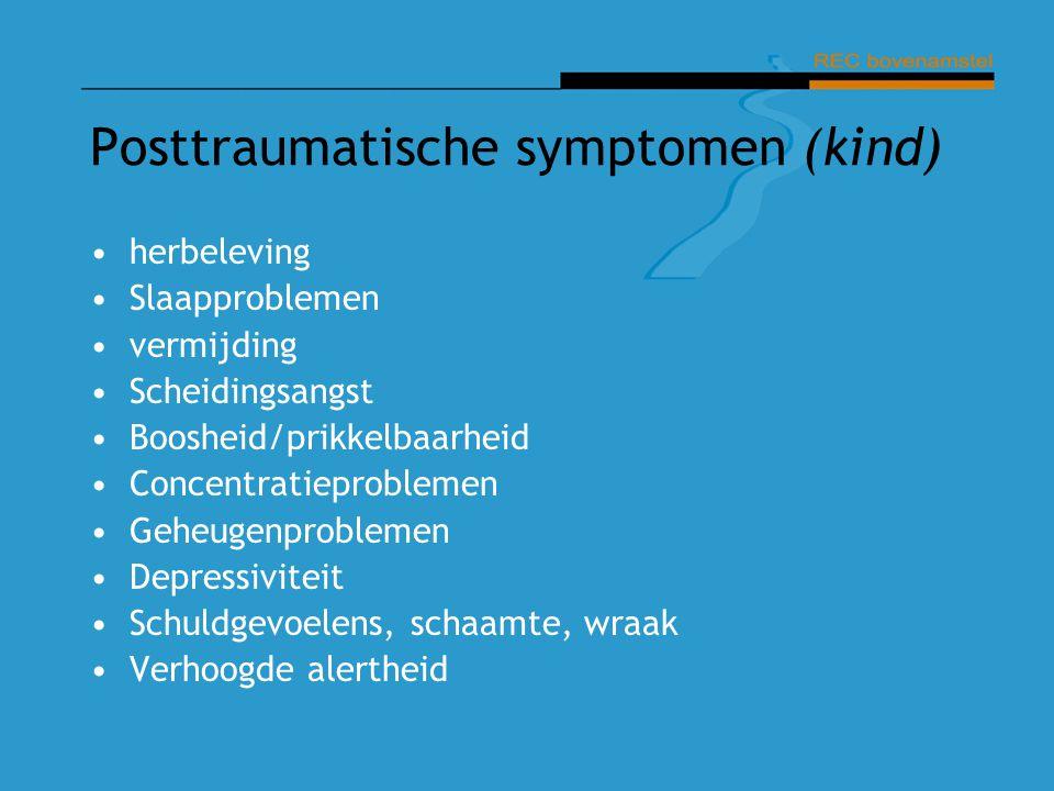 Posttraumatische symptomen (kind)