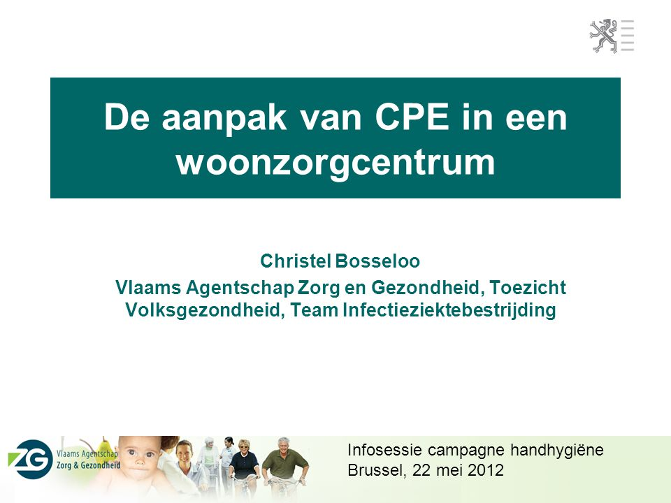 De aanpak van CPE in een woonzorgcentrum