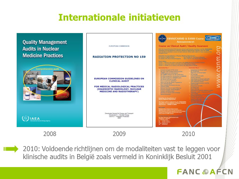 Internationale initiatieven