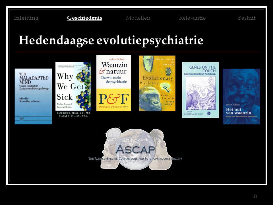 Hedendaagse evolutiepsychiatrie