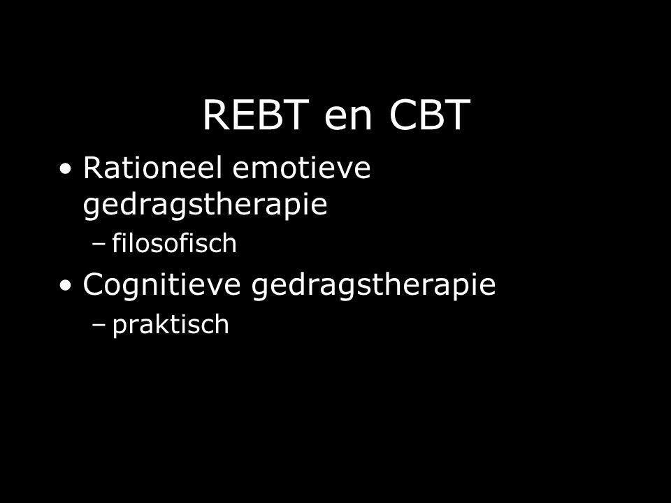 REBT en CBT Rationeel emotieve gedragstherapie