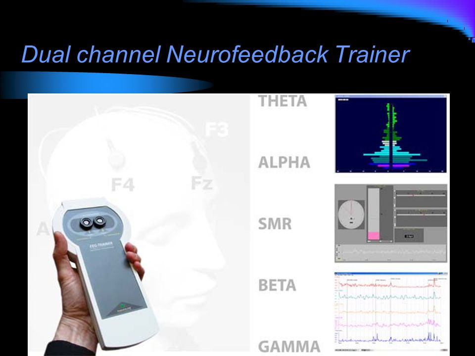 Dual channel Neurofeedback Trainer