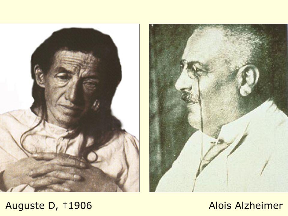 Auguste D, †1906 Alois Alzheimer