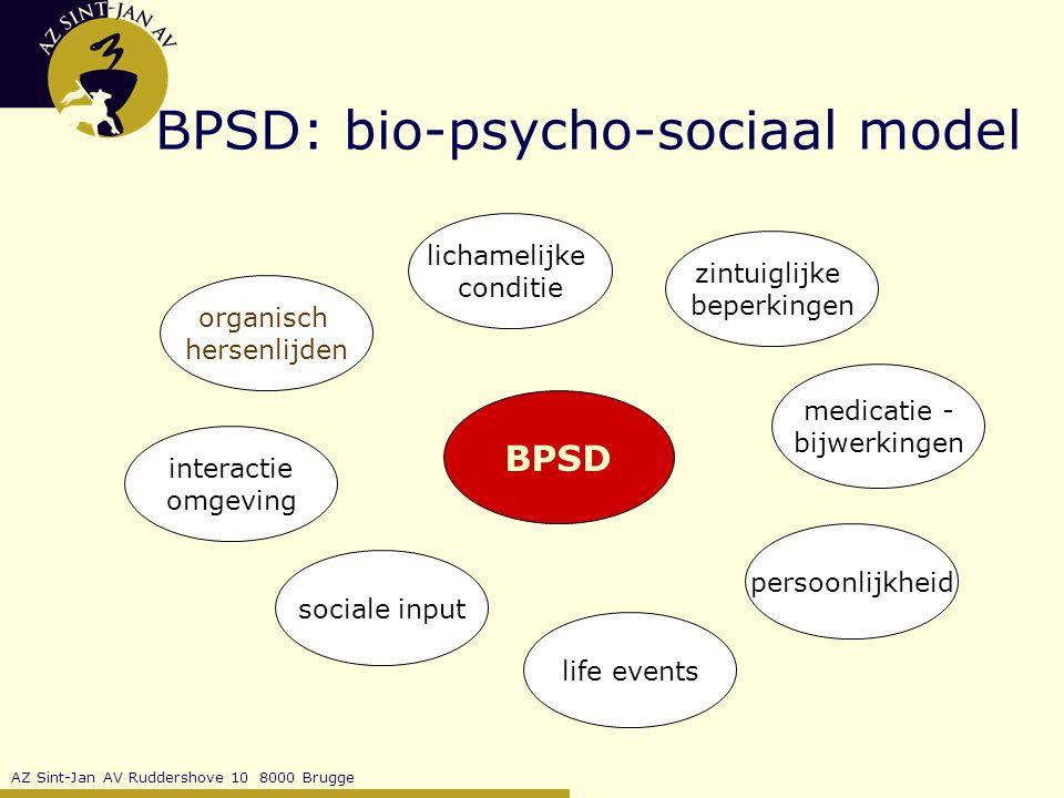 BPSD: bio-psycho-sociaal model