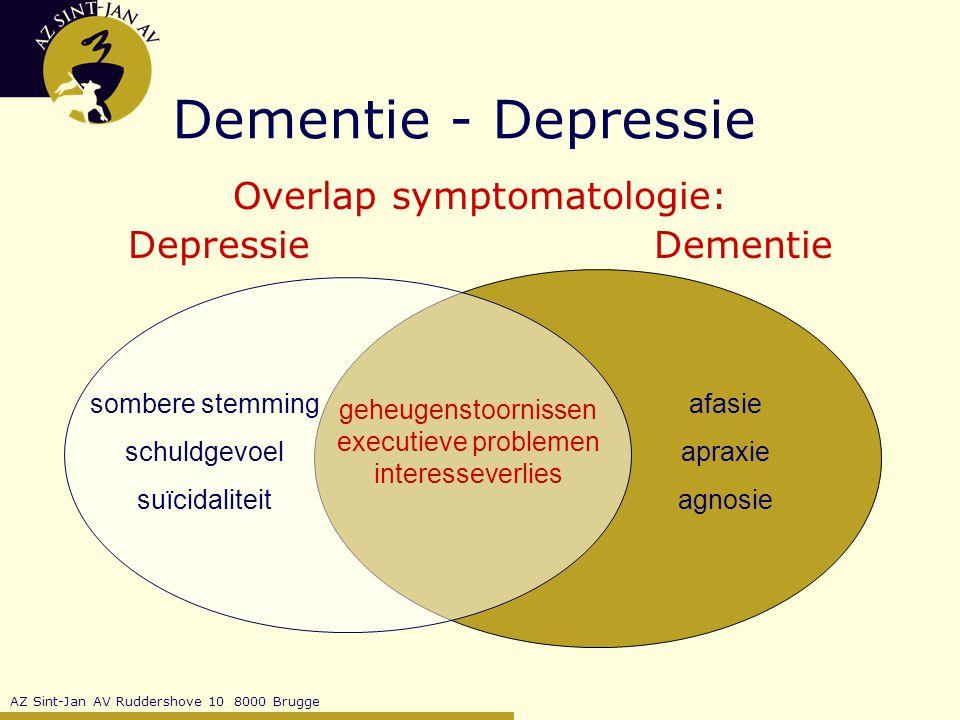 Overlap symptomatologie: