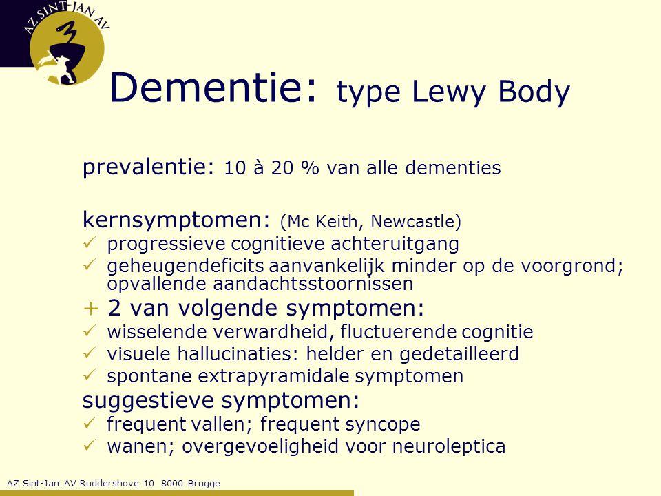 Dementie: type Lewy Body