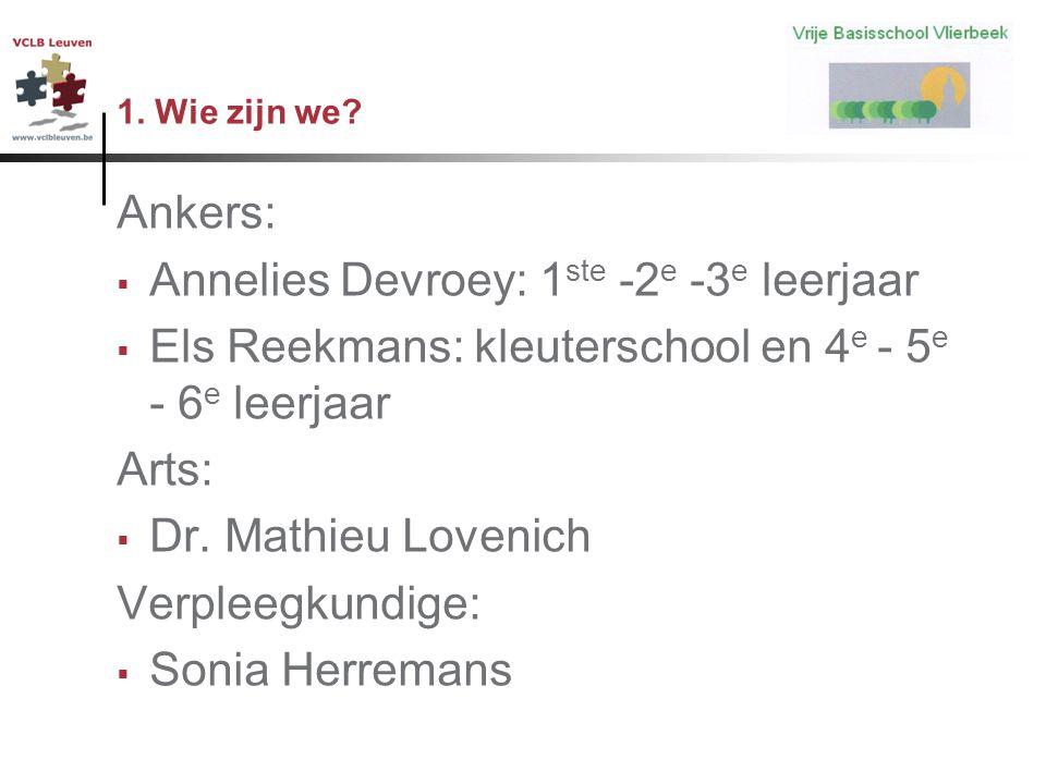 Annelies Devroey: 1ste -2e -3e leerjaar
