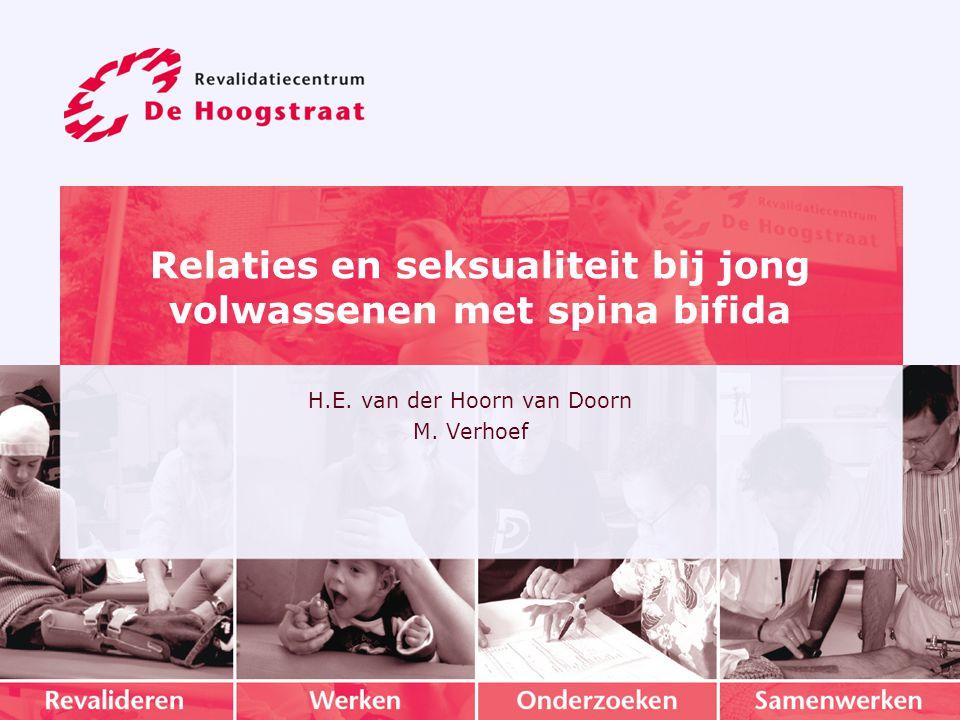 Relaties en seksualiteit bij jong volwassenen met spina bifida