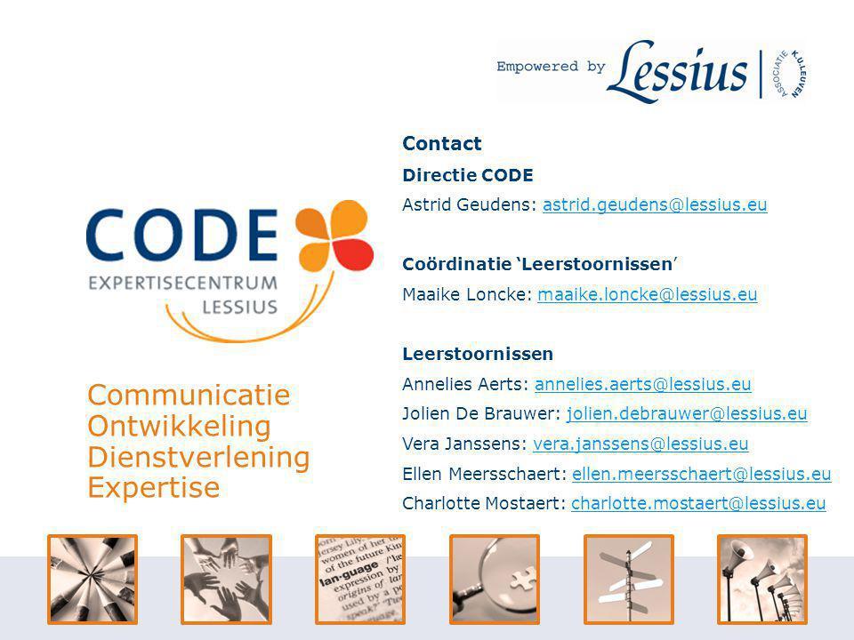 Communicatie Ontwikkeling Dienstverlening Expertise Contact