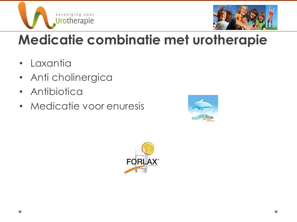 Medicatie combinatie met urotherapie