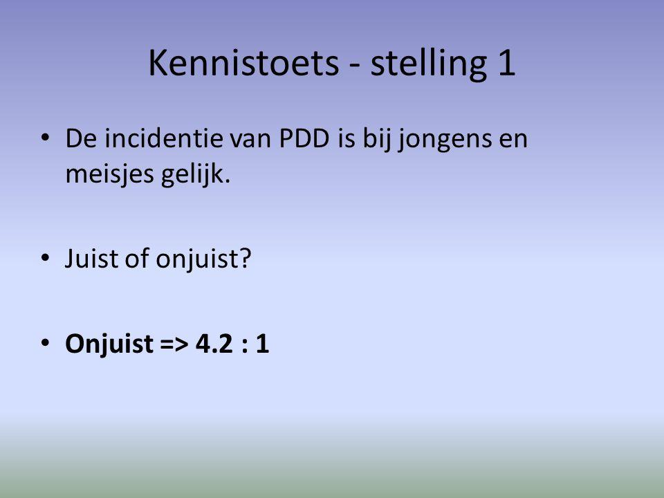 Kennistoets - stelling 1