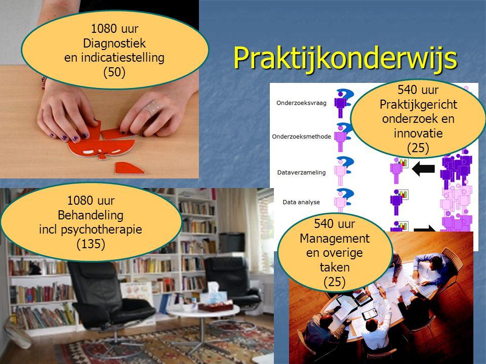 Praktijkonderwijs 1080 uur Diagnostiek en indicatiestelling (50)