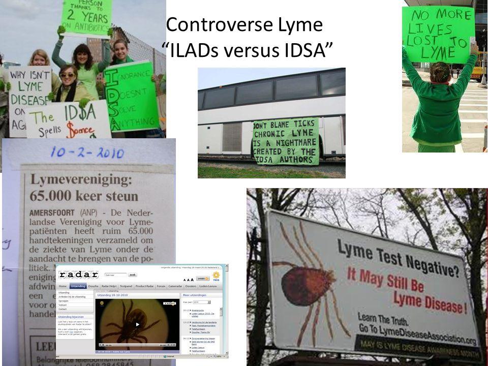 Controverse Lyme ILADs versus IDSA