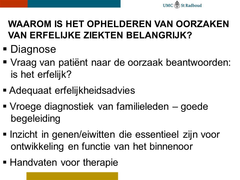 Vraag van patiënt naar de oorzaak beantwoorden: